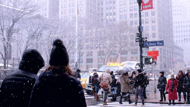 snow NY